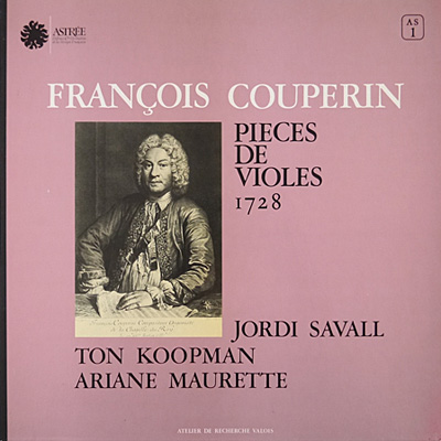 COUPERIN - Pieces de Violes