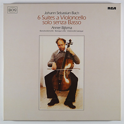J.S. BACH - 6 Suites for Unaccompanied Cello 3LP